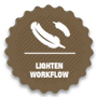 lighten workflow
