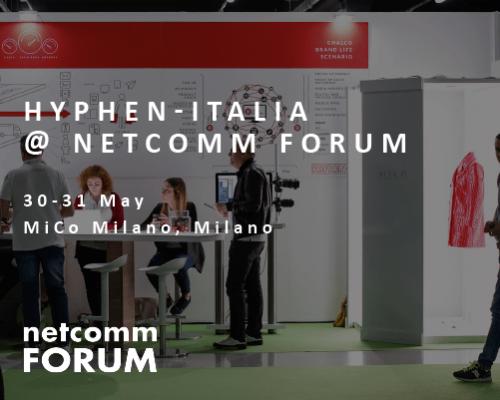 Hyphen-Italia's stand at Netcomm Forum