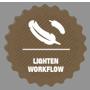 lighten workflow