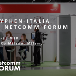 Hyphen-Italia's stand at Netcomm Forum