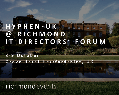 Groove Hotel - Hyphen-UK at Richmond Directors' Forum