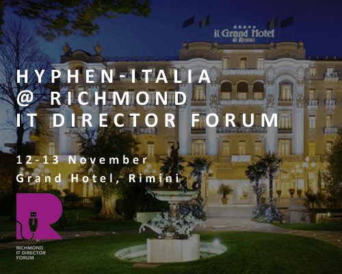 Hyphen-Italia at Richmond IT Director Forum