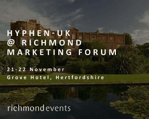 Hyphen-UK at the Richmond Marketing Forum